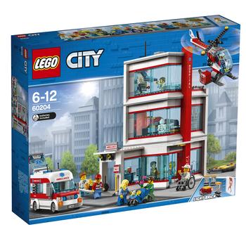 KLOCKI LEGO CITY TOWN SZPITAL LEGO® CITY 60204