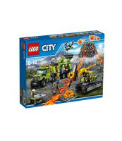 KLOCKI LEGO CITY BAZA BADACZY WULKANÓW 60124