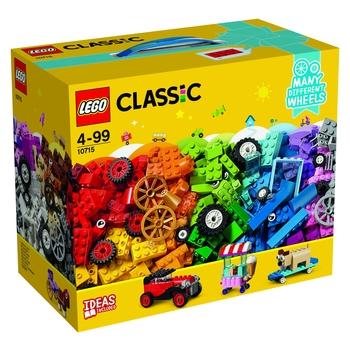 KLOCKI LEGO CITY CLASSIC KLOCKI NA KÓŁKACH 10715