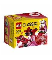 KLOCKI LEGO CLASSIC CZERWONY ZESTAW KREATYWNY 10707
