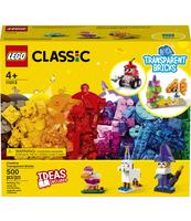 KLOCKI LEGO® CLASSIC KREATYWNE PRZEZROCZYSTE KLOCKI 11013