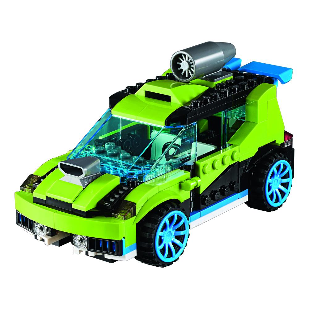 KLOCKI LEGO CITY CREATOR WYŚCIGÓWKA 31074