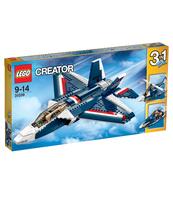 KLOCKI LEGO CREATOR BŁĘKITNY ODRZUTOWIEC 31039