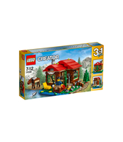 KLOCKI LEGO CREATOR CHATKA NAD JEZIOREM 31048