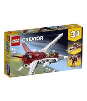 KLOCKI LEGO CREATOR FUTURYSTYCZNY SAMOLOT 31086