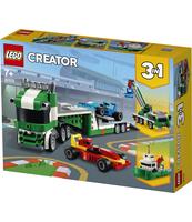 KLOCKI LEGO® CREATOR LAWETA Z WYŚCIGÓWKAMI 31113