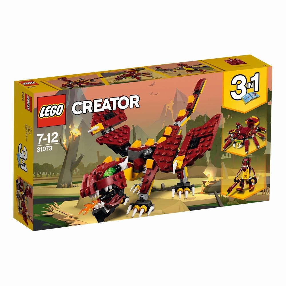 KLOCKI LEGO CREATOR MITYCZNE STWORZENIA 31073