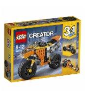 KLOCKI LEGO CREATOR MOTOCYKL Z BULWARU ZACHODZĄCEGO SŁOŃCA 31059