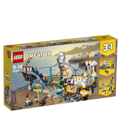 KLOCKI LEGO CREATOR PIRACKA KOLEJKA GÓRSKA 31084