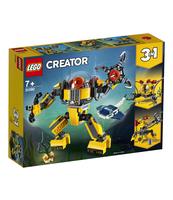KLOCKI LEGO CREATOR PODWODNY ROBOT 31090