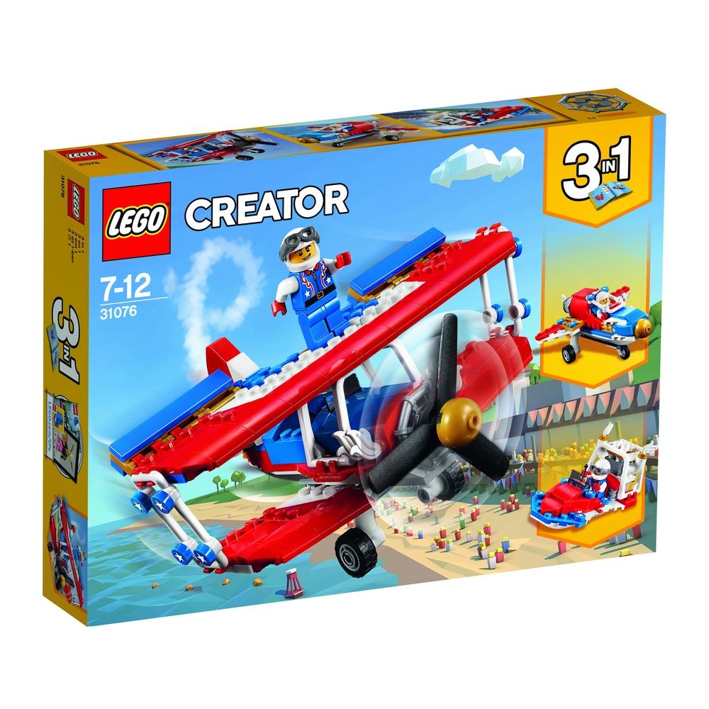KLOCKI LEGO CREATOR SAMOLOT KASKADERSKI 31076