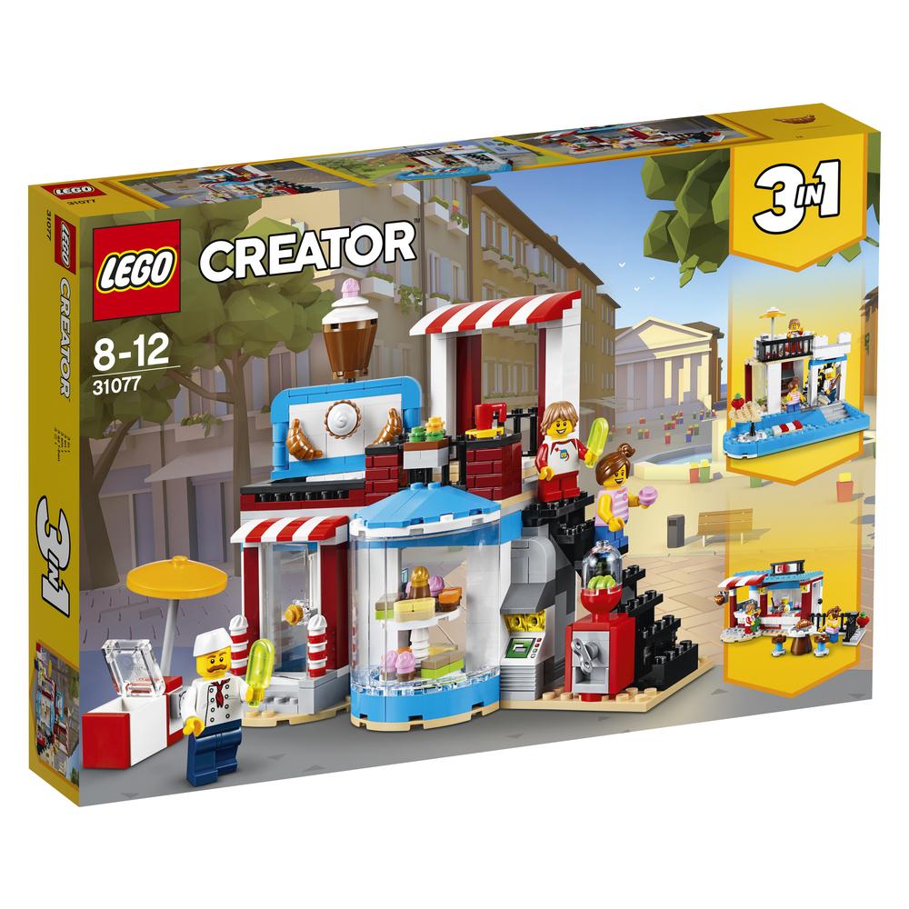 KLOCKI LEGO CREATOR SŁODKIE NIESPODZIANKI 31077