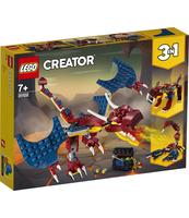 KLOCKI LEGO CREATOR SMOK OGNIA 31102