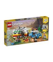 KLOCKI LEGO CREATOR WAKACYJNY KEMPING Z RODZINĄ 31108