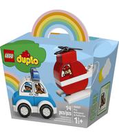 KLOCKI LEGO® DUPLO® CREATIVE PLAY HELIKOPTER STRAŻACKI I RADIOWÓZ 10957