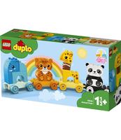 KLOCKI LEGO® DUPLO® CREATIVE PLAY POCIĄG ZE ZWIERZĄTKAMI 10955