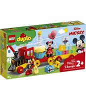 KLOCKI LEGO® DUPLO® DISNEY™ URODZINOWY POCIĄG MYSZEK MIKI I MINNIE 10941
