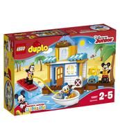 KLOCKI LEGO DUPLO DISNEY MIKI I PRZYJACIELE — DOMEK NA PLAŻY 10827