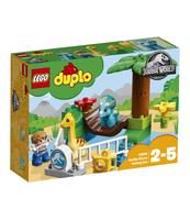 """KLOCKI LEGO DUPLO JURASSIC PARK MINIZOO """"ŁAGODNE OLBRZYMY"""" 10879"""