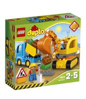 KLOCKI LEGO DUPLO CIĘŻARÓWKA I KOPARKA 10812