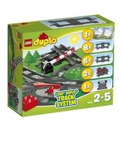 KLOCKI LEGO DUPLO TORY KOLEJOWE 10506