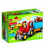 KLOCKI LEGO DUPLO TRAKTOR 10524