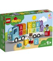 KLOCKI LEGO DUPLO MY FIRST CIĘŻARÓWKA Z ALFABETEM 10915