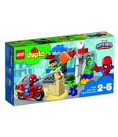 KLOCKI LEGO DUPLO PRZYGODY SPIDER-MANA I HULKA 10876