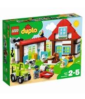KLOCKI LEGO DUPLO PRZYGODY NA FARMIE 10869