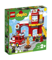 KLOCKI LEGO DUPLO REMIZA STRAŻACKA 10903