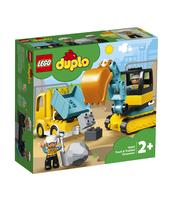 KLOCKI LEGO DUPLO TOWN CIĘŻARÓWKA I KOPARKA GĄSIENICOWA 10931
