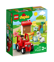KLOCKI LEGO® DUPLO TOWN TRAKTOR I ZWIERZĘTA GOSPODARSKIE (10950)