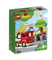 KLOCKI LEGO DUPLO WÓZ STRAŻACKI 10901