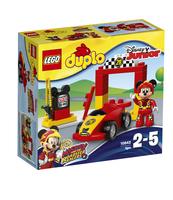 KLOCKI LEGO DUPLO WYŚCIGÓWKA MIKIEGO 10843