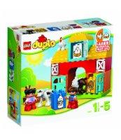 KLOCKI LEGO DUPLO MOJA PIERWSZA FARMA 10617