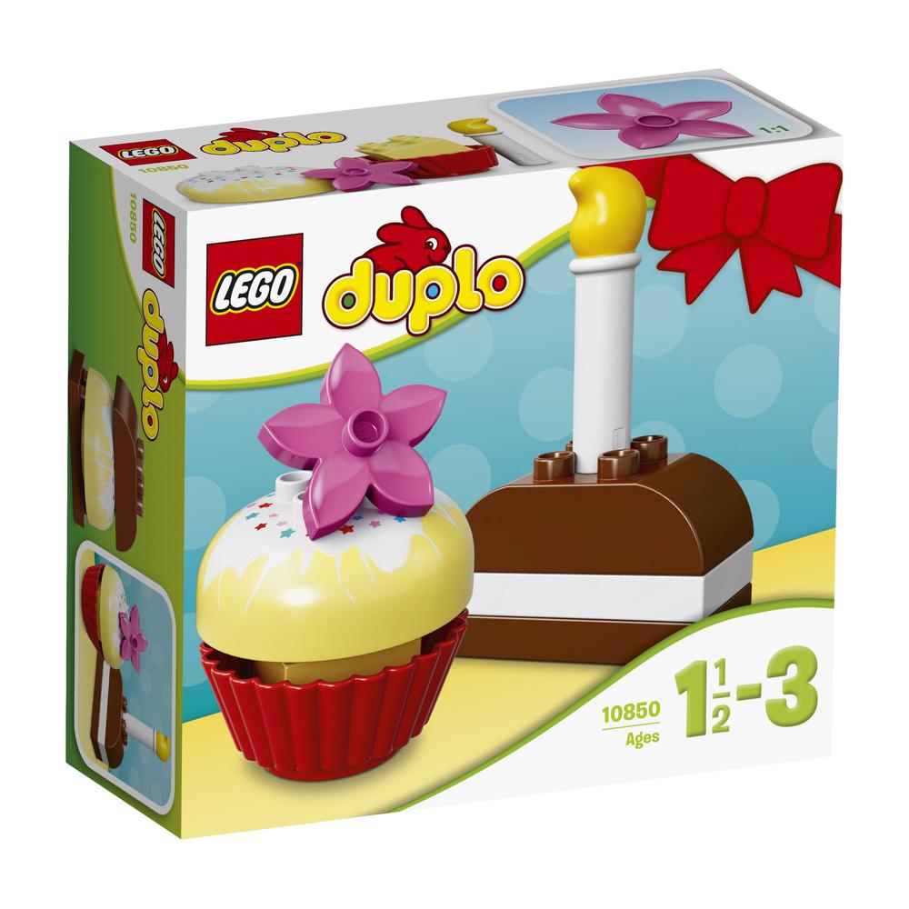 KLOCKI LEGO DUPLO MY FIRST MOJE PIERWSZE CIASTKA 10850