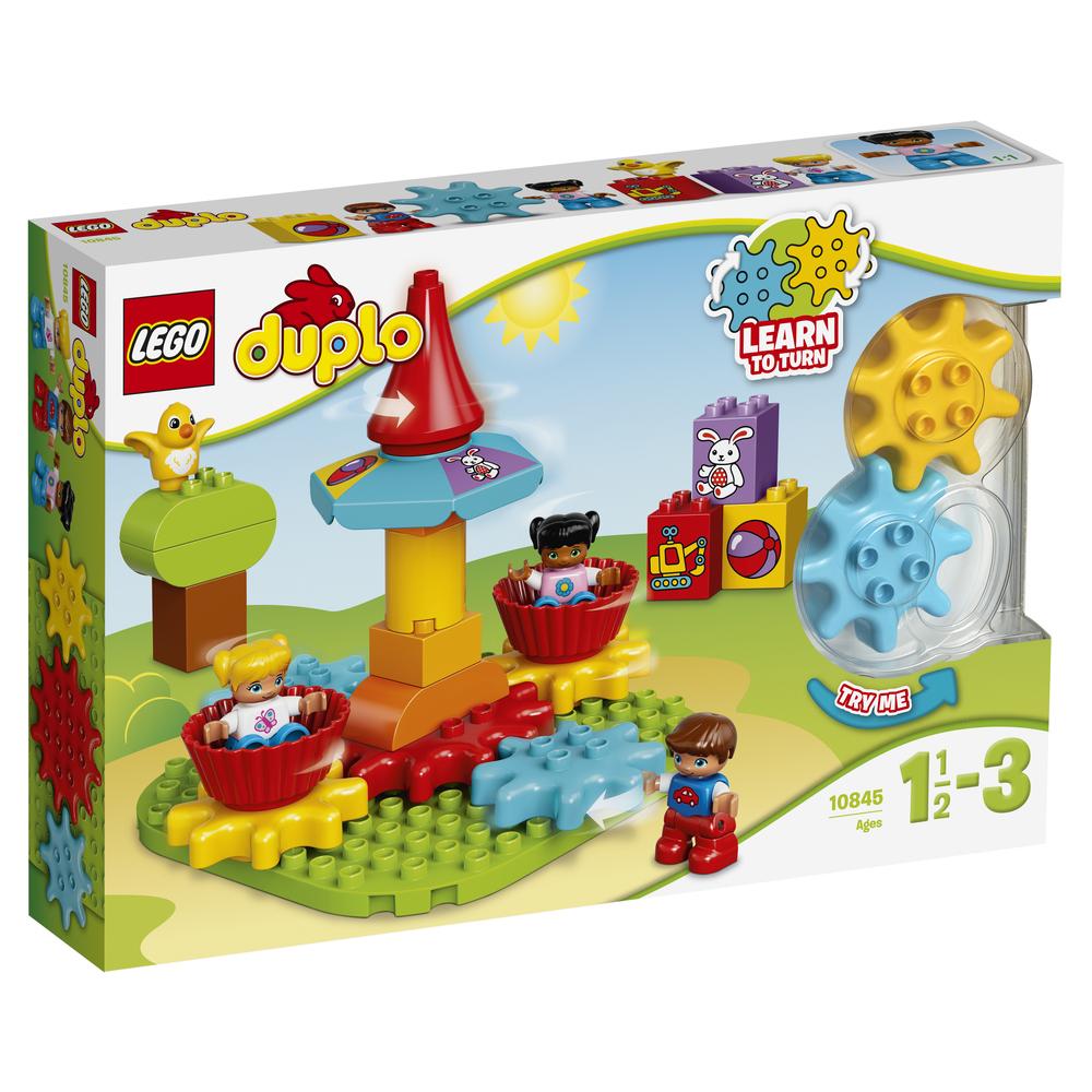 KLOCKI LEGO DUPLO MY FIRST MOJA PIERWSZA KARUZELA 10845