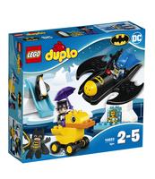 KLOCKI LEGO DUPLO SUPER HEROES PRZYGODA Z BATWING 10823