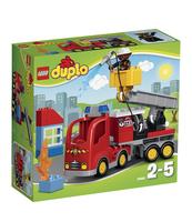 KLOCKI LEGO DUPLO WÓZ STRAŻACKI 10592