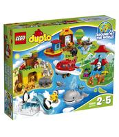 KLOCKI LEGO DUPLO TOWN DOOKOŁA ŚWIATA 10805
