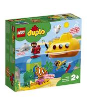 KLOCKI LEGO DUPLO TOWN PRZYGODA W ŁODZI PODWODNEJ 10910