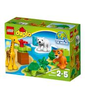 KLOCKI LEGO DUPLO TOWN ZWIERZĄTKA 10801