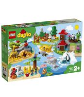 KLOCKI LEGO DUPLO TOWN ZWIERZĘTA ŚWIATA 10907