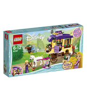 KLOCKI LEGO DISNEY PRINCESS KARAWANA PODRÓŻNA ROSZPUNKI 41157