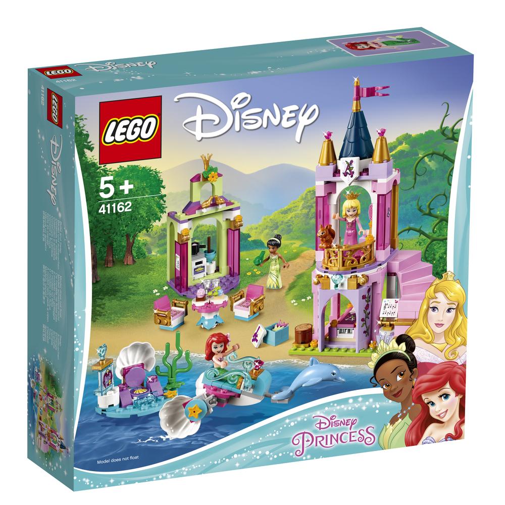 KLOCKI LEGO DISNEY PRINCESS KRÓLEWSKIE PRZYJĘCIE ARIELKI, AURORY I TIANY 41162