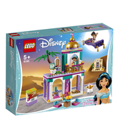 KLOCKI LEGO DISNEY PRINCESS PAŁACOWE PRZYGODY ALADYNA I DŻASMINY 41161