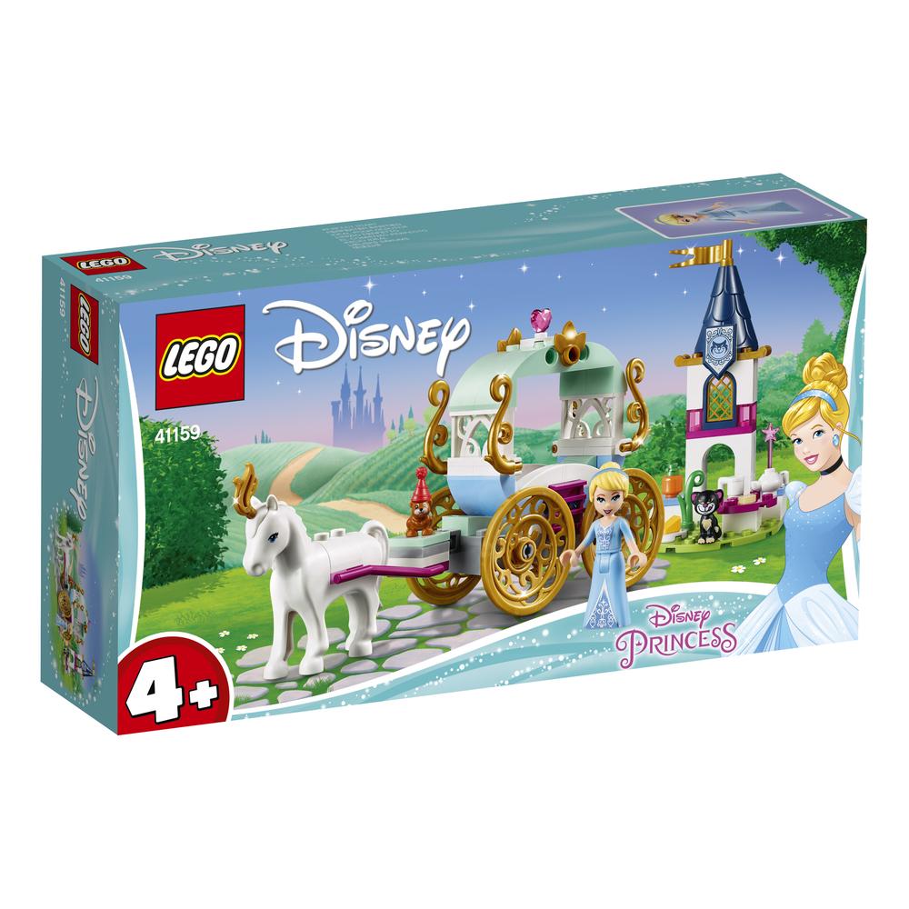 KLOCKI LEGO DISNEY PRINCESS PRZEJAŻDŻKA KARETĄ KOPCIUSZKA 41159