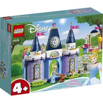 KLOCKI LEGO DISNEY PRINCESS PRZYJĘCIE W ZAMKU KOPCIUSZKA 43178