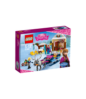 KLOCKI LEGO DISNEY PRINCESS SANECZKOWA PRZYGODA ANNY I KRISTOFFA 41066