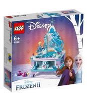 KLOCKI LEGO DISNEY PRINCESS SZKATUŁKA NA BIŻUTERIĘ ELSY 41168